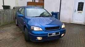 Astra 1.7 cdti Sport 54 plate- MOT August Tax £110 per year