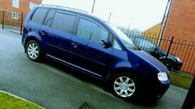 Reduced for quick sale Stunning vw touran