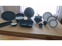 """Denby """"Greenwich"""" Dinner Sevice.50 pieces Collection only"""