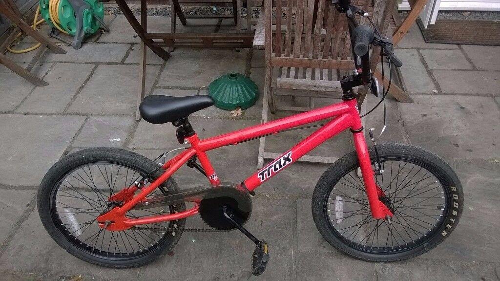 Junior Trax Red BMX Bike - Excellent Condition