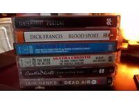 Audio books (Cassette Tapes) x 6