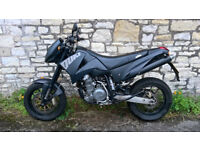 KTM 640 Black Full Year's MOT and FSH