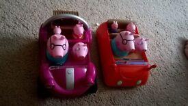 peppa pig cars