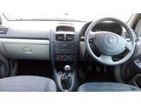 RENAULT CLIO 1.2 MANUAL,LONG MOT,53 REG 2003,CLEAN CAR,£375 CHEAP
