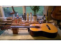 Classical Electro Acoustic Nylon String Guitar