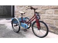 Vintage Rare Raleigh Winkie Tricycle 1950s