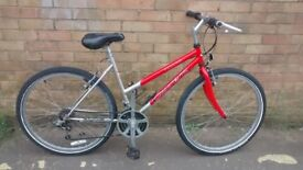 LADIES CARRERA VULCAN LIGHT WEIGHT MOUNTAIN BIKE