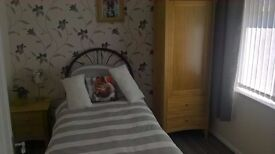 Single Bed, Wardrobe & Bedside Cabinet