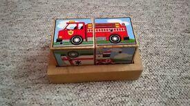 Melissa & Doug Vehicle Block Puzzle