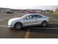 STUNNING SILVER AUDI A5 SPORT 2.0L TDI, VERY LOW MILEAGE***** IMMACULATE CONDITION