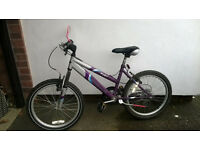 "GIRLS APOLLO PURE Front Suspension 20"" Mountain Bike Bicycle Cycle Shimano 6 Speed"