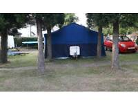 Conway Oxford 4 berth trailer tent with awning