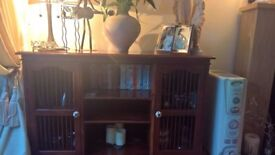 Sideboard and matching console table