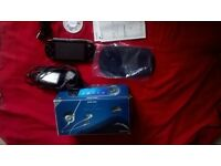 PSP 1000 CONSOLE - ALMOST NEW IN BOX