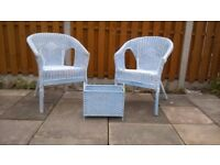 Summer House Chairs & Magazine Rack, shabby chic by a professional