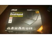 ASUS DSL-N55U ADSL Modem Router Dual-Band Wireless-N600 (Brand new boxed)