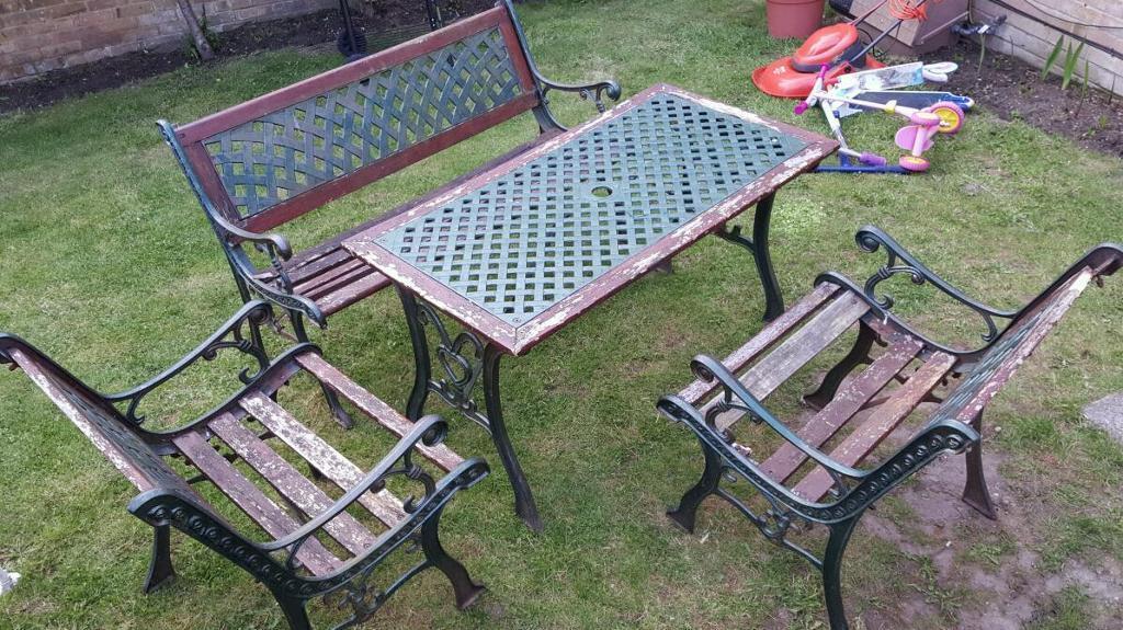 Restoring Cast Iron Garden Furniture Outdoor Furniture