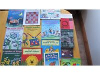 115 teaching books for Primary Teachers. Excellent condition. Perfect for a classroom teacher