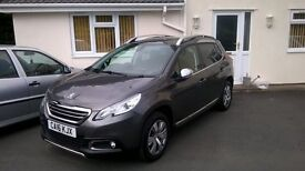 Peugeot 2008 1.2 Puretech 82 Allure 2016 - £9995 in Mint condition. 2yrs manufacturer warranty