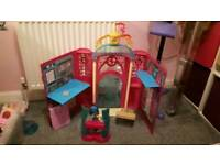 my little pony castle with accessories bundle