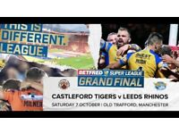 4 x Rugby League Grand Final Tickets (2 Adults & 2 Kids) - Worth £140 - will take £100 ono