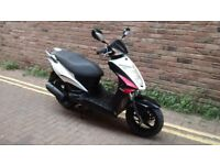 KYMCO AGILITY RS 125cc SCOOTER FORSALE BOSTON LINCS