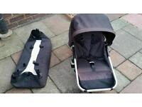 Bugaboo spare parts Carrycot and seat unit