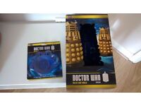Dr Who Dalek cake mould and cupcake dusting stencil set