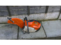 stihl ts410 full service new genuine carb fitted starts every day ticks over great