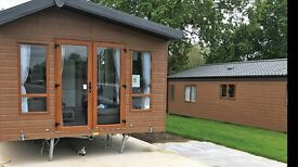 NEW HOLIDAY HOME LODGE WILLERBY LINEAR 2017 KNUTSFORD CHESHIRE