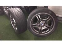 """BMW alloys Staggered 17"""" Gunmetal grey"""