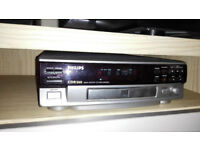 Phillips cd player, recorder