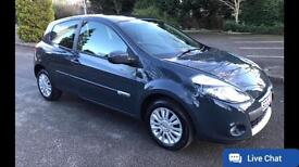 2012 Renault Clio 1.2 i Music Grey with 49,000 miles Only £3250