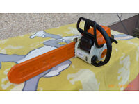 sthil chain saw ms 170