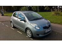 TOYOTA YARIS 2007 07 1.2 ZINC 5 DOOR HATCHBACK MANUAL, 1 YEARS MOT 1895