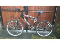 Venom python 180 dd full suspension mountain bike for sale