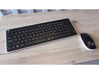 HP Wireless Keyboard and Mouse set. Brand New Boxed.