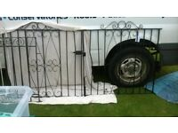 pair of 7ft drive way gates
