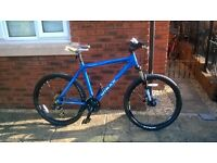 "Raleigh Designed MTRAX Lahar Mountain Bike - 20"" Hydroform Alu-Frame/Dual Disc/Frnt Susp - RRP £325"