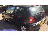 Volkswagen Polo 2002 3 Door Black Manual