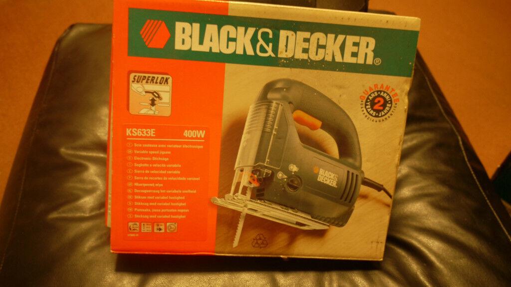 Black and decker jigsaw ks633e 400w opened but never used no blade black and decker jigsaw ks633e 400w opened but never used no blade greentooth Gallery