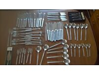 VINERS STUDIO CUTLERY BY GERALD BENNEY RETRO MADE IN SHEFFIELD