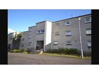 Large 2 bed flat to let in Abronhill Cumbernauld flexible deposit