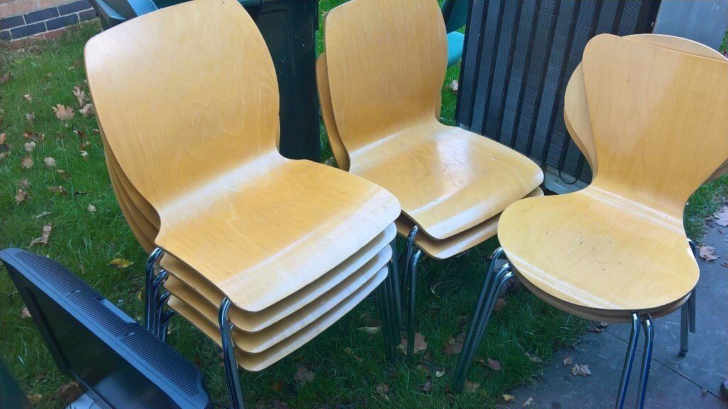 Chairs job lot x 22 Stackable