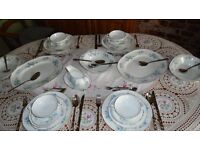 Vintage beautiful Bone china Mayfair dinner service