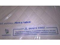 New Silentnight Cot Bed Mattress 140x70cm