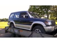 WANTED £500 Mot Failure Mitsubishi Shogun Pajero 2.5 2.8 manual 4d56 4m40 TD diesel braking breaking