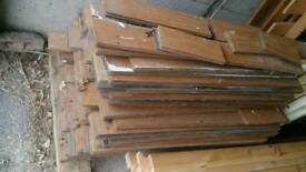 Bamboo tongue and groove flooring
