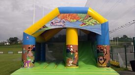 Large selection of nearly new Bouncy Castles for sale.