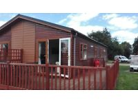 Semi detached holiday lodge for sale at Yaxham Waters Holiday Park Norfolk GREAT BUY TO RENT PACKAGE
